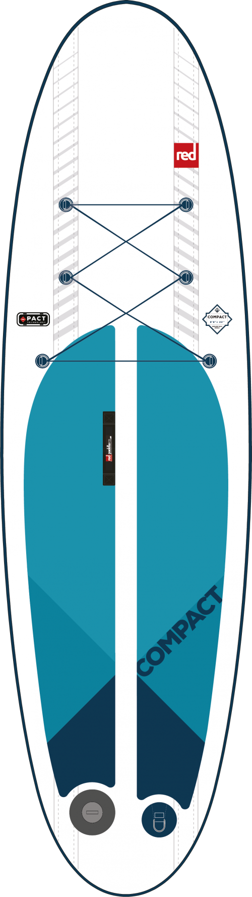 2019 Red Paddle Co. Compact 9ft 6in x 32in x 4.7in PACT Technology Image